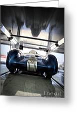The Attempt- Mickey Thompson- Metal And Speed Greeting Card by Holly Martin
