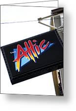The Attic Myrtle Beach Sc Greeting Card