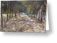 The Avenue At The Park Greeting Card