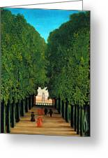 The Avenue In The Park At Saint Cloud    Greeting Card