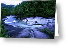 The Babinda Boulders Is A Fast-flowing Greeting Card
