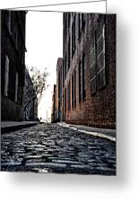 The Back Alley Greeting Card