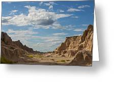 The Badlands Greeting Card