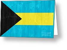 The Bahamas Flag Greeting Card