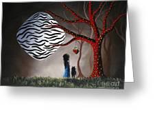 The Bait By Shawna Erback Greeting Card by Shawna Erback