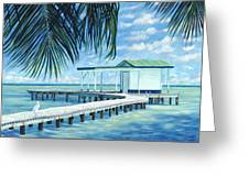 The Bait Shack Greeting Card