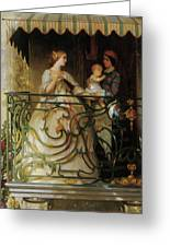 The Balcony Greeting Card