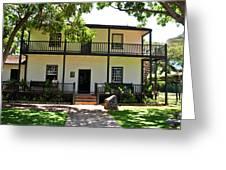 The Baldwin House In Lahaina I Greeting Card