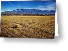 The Bale - Sandia Mountains - Albuquerque Greeting Card