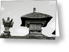 The Bali Temple Greeting Card
