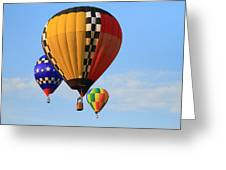 The Balloons Greeting Card