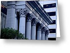 The Bank Of California Greeting Card