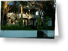 The Banyan House Resort In Key West Greeting Card