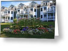 The Bar Harbor Inn - Maine Greeting Card