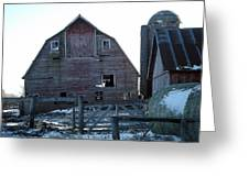 The Barn 3 Greeting Card
