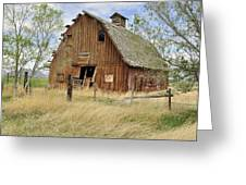 the Barn  Greeting Card by Fran Riley