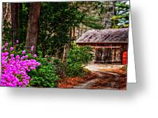 The Barn In Spring Greeting Card
