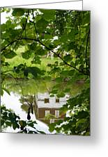 The Barn In The Water Greeting Card