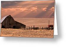 The Barn Lot Greeting Card