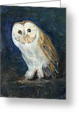 The Barn Owl Greeting Card