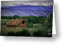 The Barn Greeting Card by Robert Bales