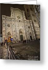 The Basilica Di Santa Maria Del Fiore  Greeting Card