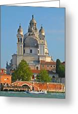The Basilica Di Santa Maria Della Salute Greeting Card