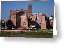 The Basilica Of Constantine Greeting Card