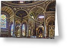 The Basilica Of St. Josaphat Greeting Card