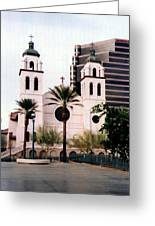 The Basilica Of St. Mary Greeting Card