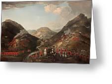 The Battle Of Glen Shiel 1719 Greeting Card