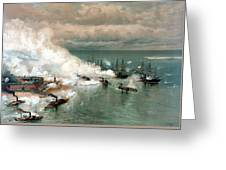 The Battle Of Mobile Bay Greeting Card