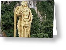 The Batu Caves Greeting Card