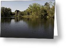 The Baughman Center At The University Of Florida Panoramic. Greeting Card by William Ragan