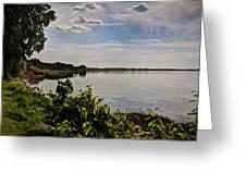 The Bay Of Green Bay Greeting Card