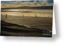 The Beach At Mounts Bay Greeting Card