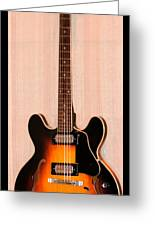 The Beach Boys Brian Wilson's Guitar Greeting Card