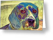The Beagle Greeting Card