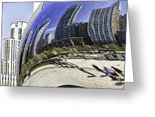 The Bean In Chicago-003 Greeting Card