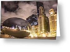 The Bean In Chicago  Greeting Card