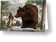 The Bear Woman Greeting Card