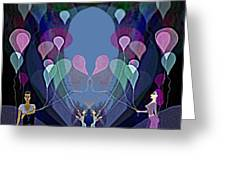 The Beautiful Balloons - 499 Greeting Card
