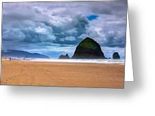 The Beautiful Cannon Beach Greeting Card by David Patterson