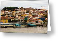 The Beautiful Colors Of Lisbon Greeting Card