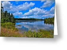 The Beautiful Lake Abanakee New York Greeting Card