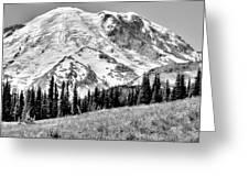 The Beautiful Mount Rainier At Sunrise Park - Washington State Greeting Card