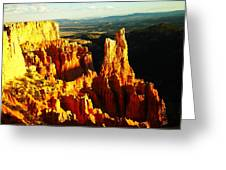 The Beauty Of Bryce Greeting Card