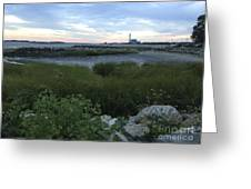 The Beauty Of Connecticut's Shoreline Greeting Card