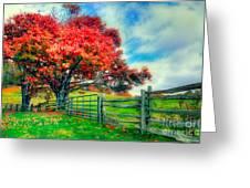 The Beauty Of Fall II - Blue Ridge Parkway Greeting Card by Dan Carmichael