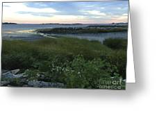 The Beauty Of Long Island Sound Greeting Card